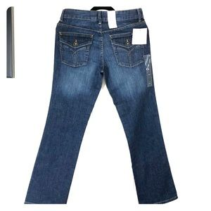 Calvin Klein Blue Jeans Bootcut  Slim Fit Size 6